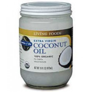 Garden of Life Organic (Non-GMO) Extra Virgin Coconut Oil 16 oz