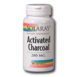Activated Charcoal 280mg 90 Caps