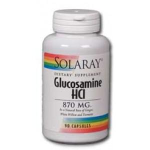 Solaray Glucosamine HCl 870mg 90 Caps