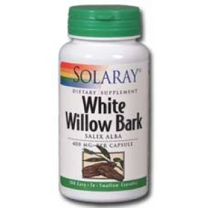 Solaray White Willow Bark 400mg 100 Caps