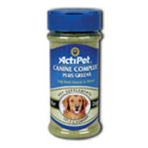 ActiPet Canine Complex Plus Greens 121.5g Powder