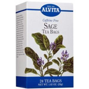 Alvita Sage Tea 24 Bags