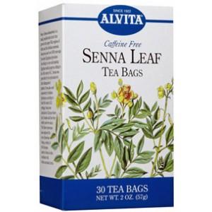 Alvita Senna Leaf Tea Organic 24 Bags