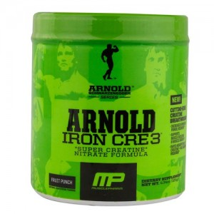 Arnold Schwarzenegger Series Iron Cre3 Fruit Punch 30 Servings
