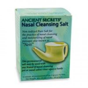 Ancient Secrets Nasal Cleansing Salt 40 Packets