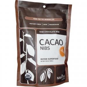 Raw Cacao Nibs (Certified Organic) 16 Oz