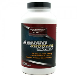 Champion Nutrition Amino Shooter Softgels  180 Softgels