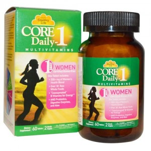Country Life Core Daily-1 Women 60 Tabs