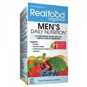 Country Life Realfood Organics Men's Daily Nutrition 120 Tabs
