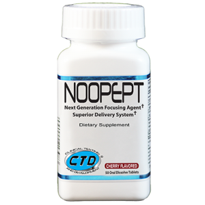 CTD Labs Noopept Cherry 50 Oral Dissolve Tablets