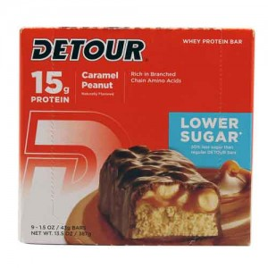 Detour Detour Bar Caramel Peanut Low Sugar 12/box