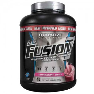 Dymatize Elite Fusion 7 Strawberry Shake 5.15 Lbs