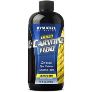 Dymatize Liquid L-Carnitine 1100 Lemonade 16 Fl Oz