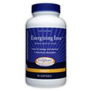 Enzymatic Therapy Energizing Iron 90 Softgels