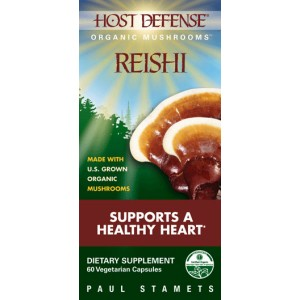 Fungi Perfect Host Defense Reishi 60 Vege Caps