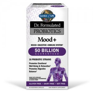 Garden of Life Dr. Formulated Probiotics Mood+ 60 Vege Caps