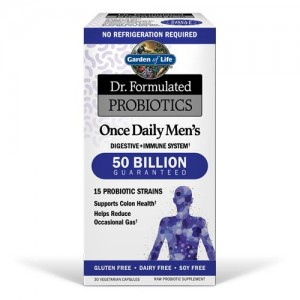 Dr. Formulated Probiotics Once Daily Men's 30 Vege Caps