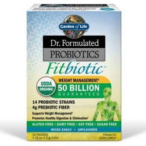 Dr. Formulated Probiotics Fitbiotic 20 Packets