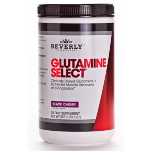 Glutamine Select plus BCAAs Black Cherry 552g