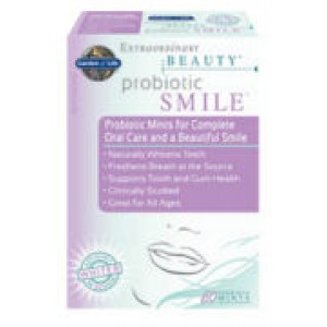 Extraordinary Beauty Probiotic Smile Vanilla Spearmint 60 Mints