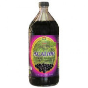 Genesis Today Acai 100 100% Pure Wild Harvested Acai Berries 32 oz