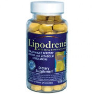 Hi-Tech Pharmaceuticals Lipodrene w/25mg Ephedra Extract 100 Tabs
