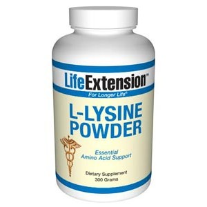 Life Extension L-Lysine  300 grams