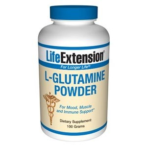 Life Extension L-Glutamine 100 grams