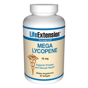 Life Extension Mega Lycopene 15mg 90 Softgels