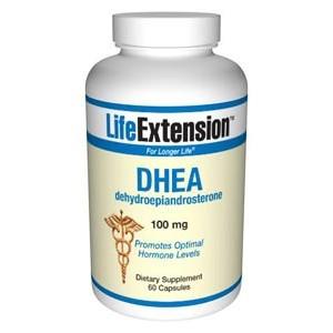 Life Extension DHEA (dehydroepiandrosterone) 100 mg 60 Caps