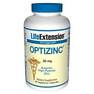 Life Extension OptiZinc 30 mg 90 Vegecaps