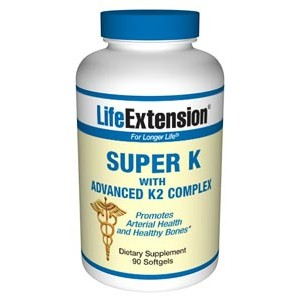 Life Extension Super K with Advanced K2 Complex 90SG