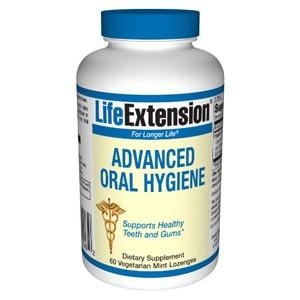Life Extension Advanced Oral Hygiene 60 vegetarian mint Lozenges