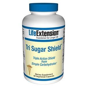 Life Extension Tri Sugar Shield 60 Vege Caps