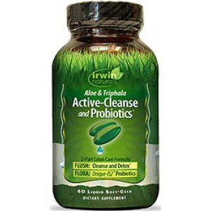 Active-Cleanse and Probiotics 60 Liquid Soft Gels