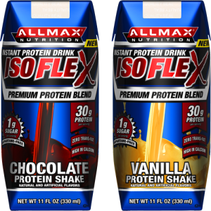 Allmax Nutrition Isoflex RTD 11 Fl Oz 24/Case