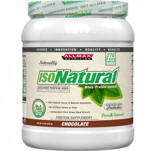 Allmax Nutrition IsoNatural Whey Protein 15 Oz