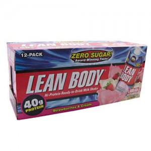 Labrada Nutrition Lean Body RTD Strawberries and Cream 17 Oz. 12/Case