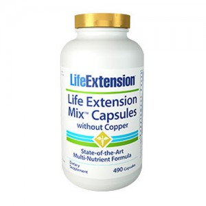 Life Extension Mix CAPS without Copper