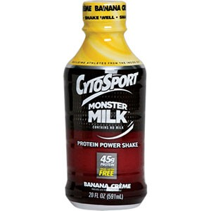 CytoSport Monster Milk RTD Banana 20 Fl Oz 12/Case
