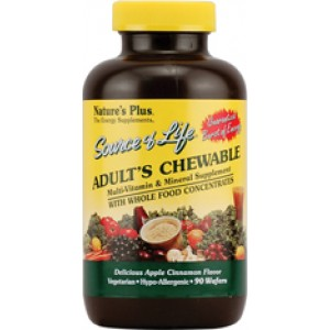 Nature's Plus Adults Chewable Multi Pineapple 180 Tabs