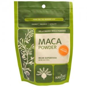 Raw Maca Powder (Certified Organic) 4 Oz