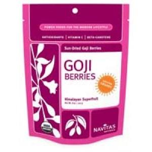Sun-Dried Goji Berries (Certified Organic) 8 Oz