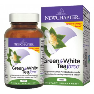 New Chapter Green & White Tea Force 60 Vege Caps