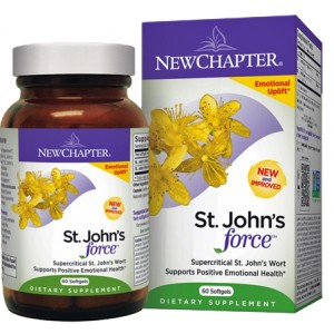 New Chapter St. John's Wort Force 60 Gels