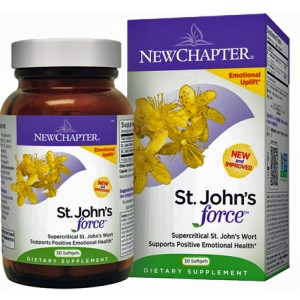New Chapter St. John's Wort Force 30 Gels