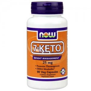 7-Keto 25 Mg 90 Vegetable Capsules