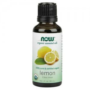 Now Foods Organic Lemon Oil 1 Oz