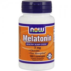 Now Foods Melatonin 3 Mg 180 Lozenges
