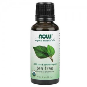 Now Foods Organic Tea Tree Oil 1 Oz